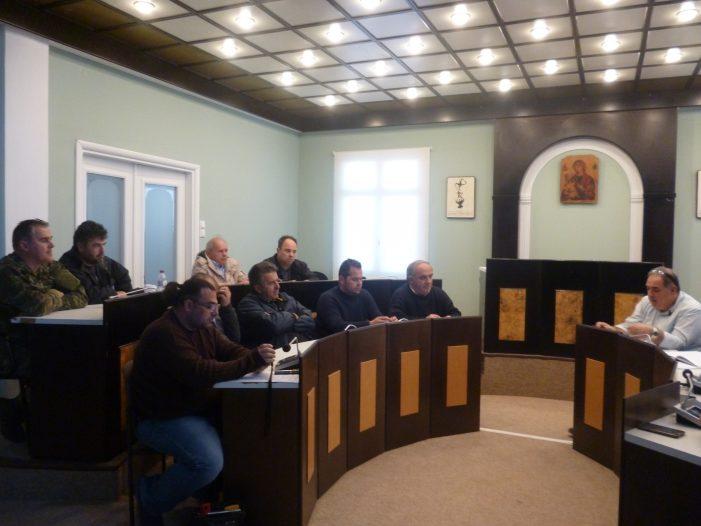Συνεδρίαση πραγματοποίησε το Συντονιστικό Τοπικό Όργανο Πολιτικής Προστασίας του Δήμου Άργους Ορεστικού