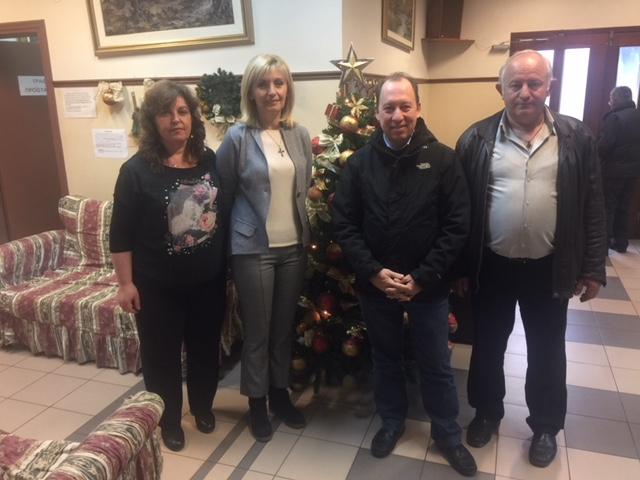 Ευχές για τις Άγιες ημέρες των Χριστουγέννων και το Νέο Έτος  απηύθυνε ο Αντιπεριφερειάρχης Καστοριάς από το Γηροκομείο Καστοριάς