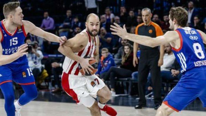 Euroleague: Ασταμάτητος Ολυμπιακός, κέρδισε μέσα στην Τουρκία