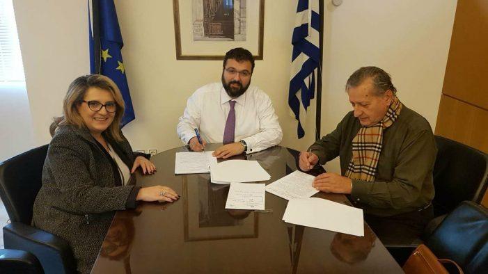 """Τελιγιορίδου: Υπογράφτηκε η σύμβαση για το έργο """"Βελτιώσεις Κλειστού Γυμναστηρίου Νεστορίου"""""""