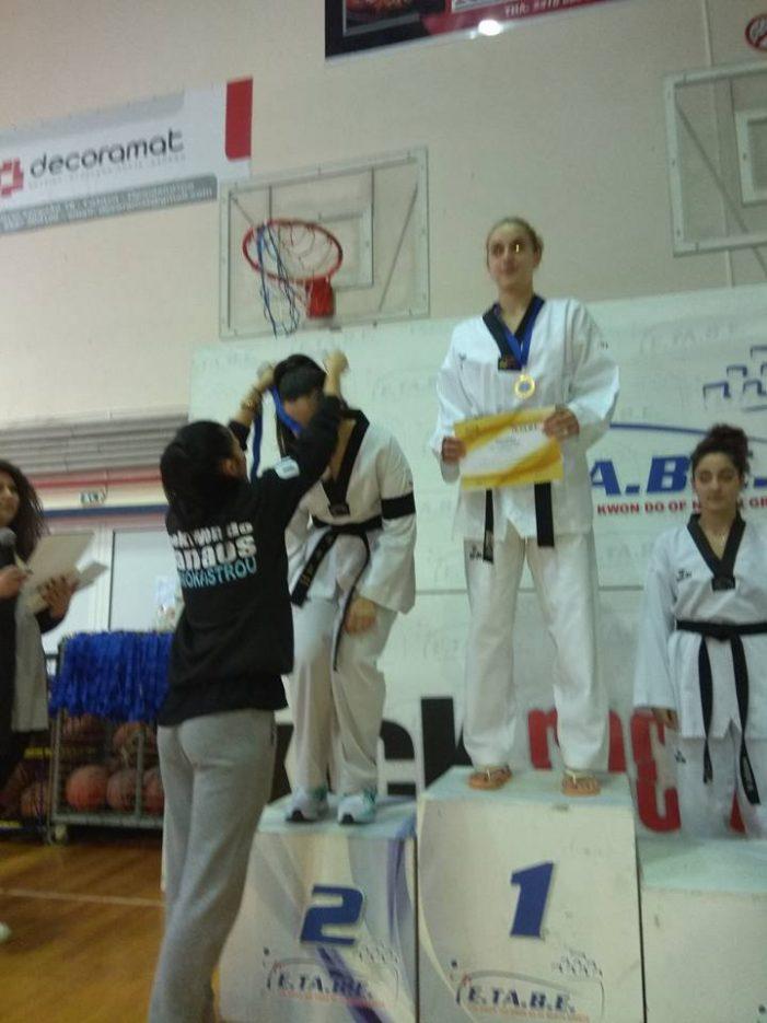 Καστοριά: Φαίη Μυλωνά μετάλλιο στο ΤΑΕΚΒΟΝΤΟ