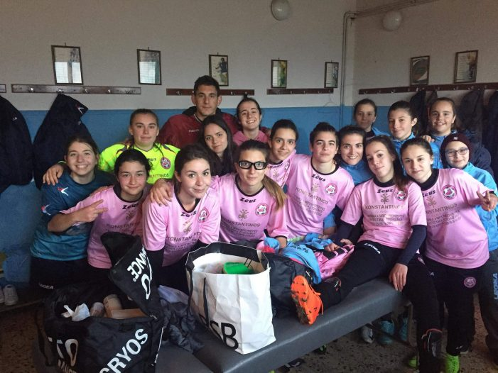 Νίκη για τον Γυναικείο Ποδοσφαιρικό Όμιλο Καστοριάς