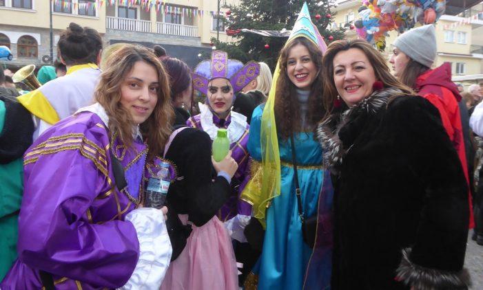 Η Μ. Αντωνίου στο Αργείτικο Καρναβάλι
