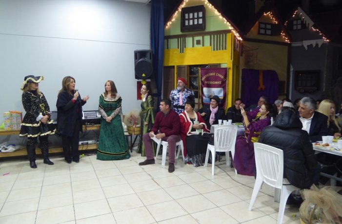 Η Μαρία Αντωνίου στην εκδήλωση του Αθ. Χριστόπουλου