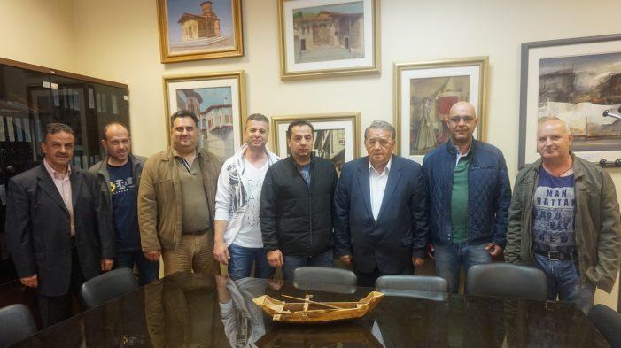 Επίσκεψη του Προέδρου και των Συνοριοφυλάκων Καστοριάς στον Α. Αγγελή