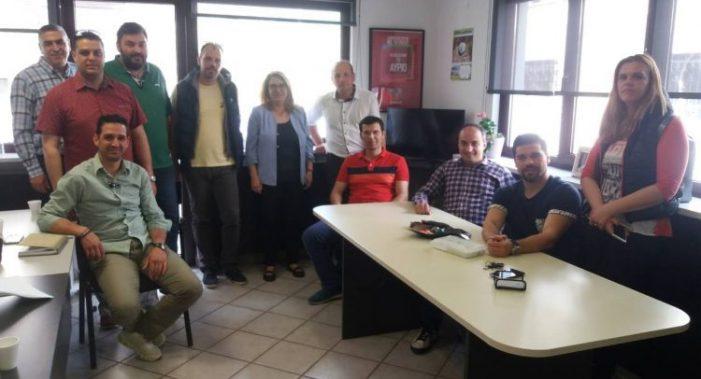 Εθιμοτυπικές επισκέψεις του νέου Δ.Σ. της Ένωσης Αστυνομικών Υπαλλήλων Καστοριάς.