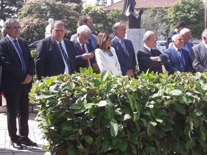Ο Α. Αγγελής στις εκδηλώσεις μνήμης υπέρ του Ρήγα Φεραίου και των συνεργατών του