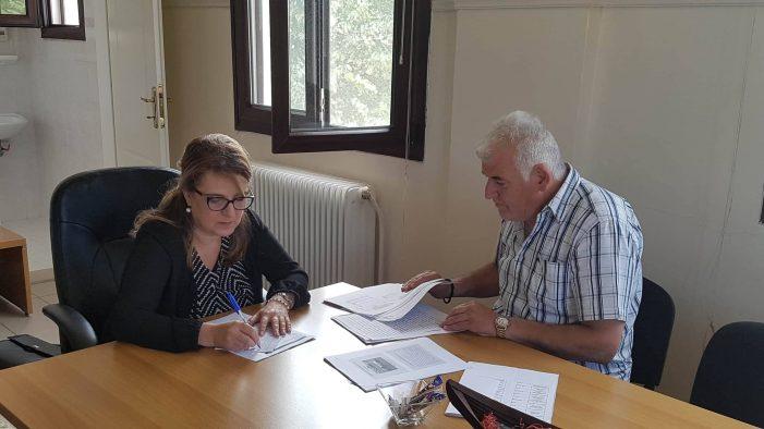 Συνάντηση Εργασίας Ολυμπίας Τελιγιορίδου με τον Διοικητή του Νοσοκομείου Καστοριάς