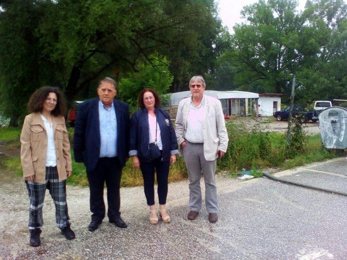 Εκπρόσωποι του Συνηγόρου του Πολίτη στην Καστοριά για τους Ρομά