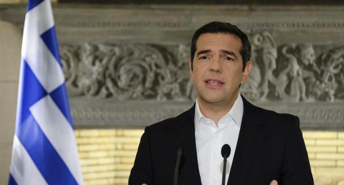 Το διάγγελμα του πρωθυπουργού για τη συμφωνία με την πΓΔΜ