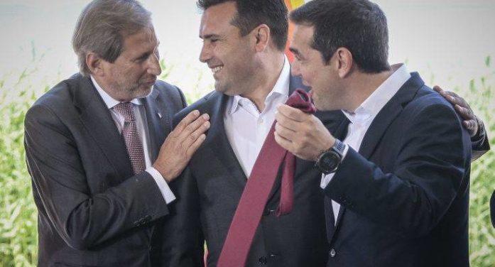 Die Zeit: Μόνο η μία χώρα διατηρεί σκέτο το όνομα Μακεδονία