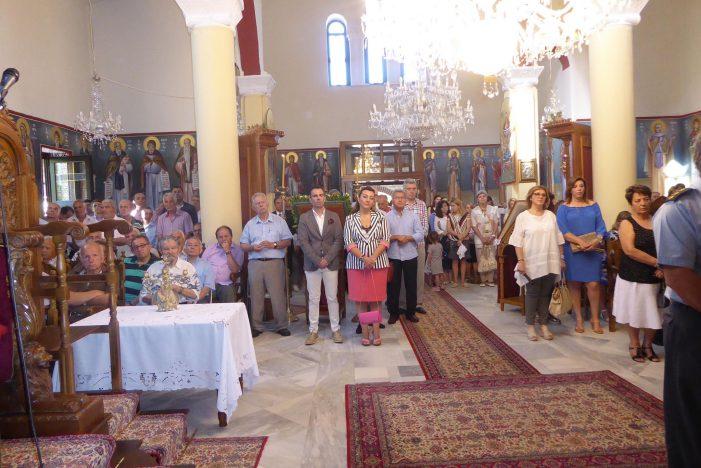 Η Μαρία Αντωνίου στις εορταστικές εκδηλώσεις στον Προφήτη Ηλία