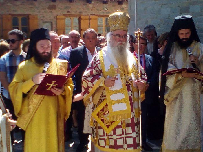 Ο Α. Αγγελής στον εορτασμό ων Αγ. Αναργύρων Κοσμά και Δαμιανού
