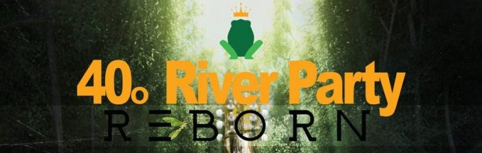 H τελική επίσημη αφίσα του 40ου River Party Reborn