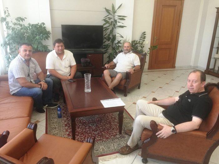 Εθιμοτυπική επίσκεψη του Προεδρείου του Συλλόγου Ερασιτεχνών Αλιέων & Φίλων της λίμνης, στον Αντιπεριφερειάρχη Καστοριάς.