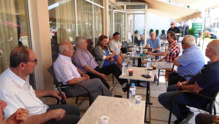 Στο Δισπηλιό εκτάκτως η Μαρία Αντωνίου για το πρόβλημα με το νερό