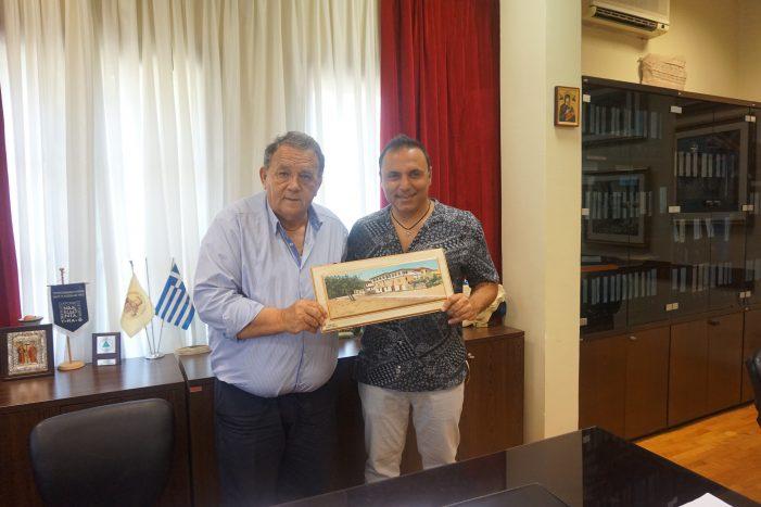 Στον Δήμαρχο Καστοριάς ο μουσικός Παύλος Σιμτικίδης