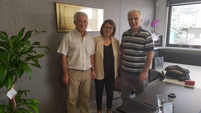 Ολυμπία Τελιγιορίδου : Συναντήσεις με υπηρεσιακούς παράγοντες και αγροτικούς φορείς και συλλόγους της περιοχής μας