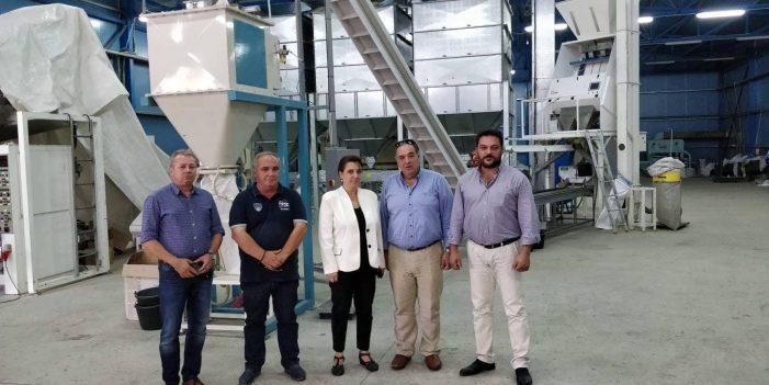 Ολυμπία Τελιγιορίδου : Ο τομέας της φασολοπαραγωγής είναι ένας σημαντικός κλάδος για την περιοχή μας