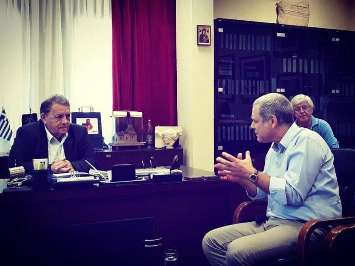 Συνάντηση Α. Αγγελή με τον Θάνο Τζήμερο