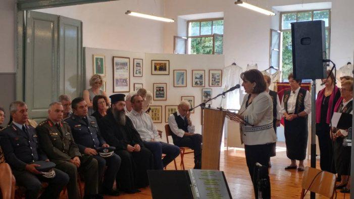 Την Κυβέρνηση εκπροσώπησε σήμερα η Ο. Τελιγιορίδου στις εκδηλώσεις Μνήμης υπέρ των θυμάτων της Γενοκτονίας του Ελληνισμού της Μικράς Ασίας στην Κατερίνη