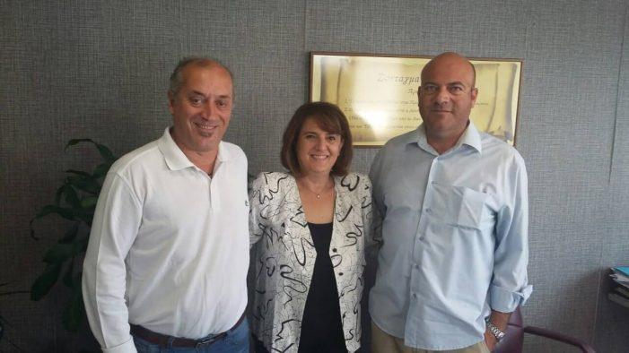 Σειρά συναντήσεων με φορείς και συλλόγους είχε στο πολιτικό της γραφείο στην Καστοριά η Υφυπουργός O. Τελιγιορίδου