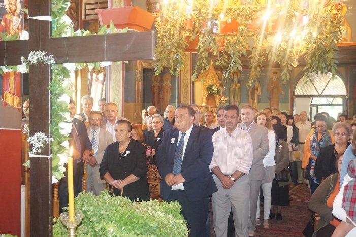 Ο Δήμαρχος Καστοριάς σε εορταστικές εκδηλώσεις του Τιμίου Σταυρού
