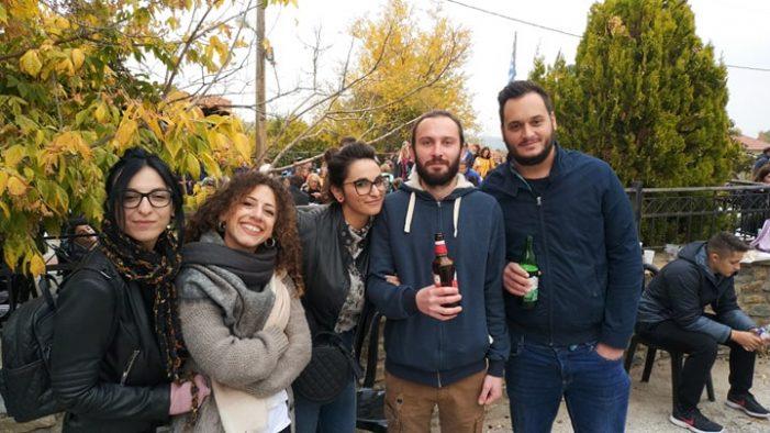Καστανογιορτή στην Δαμασκηνιά (φωτογραφίες)