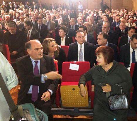Η Μαρία Αντωνίου σε εκδήλωση της ΝΔ με ομιλητή τον Κυριάκο Μητσοτάκη