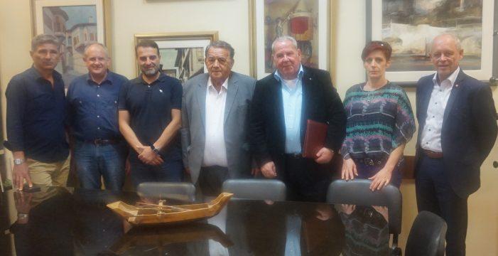 Eπίσκεψη γερμανικής αποστολής στο Δήμο Καστοριάς