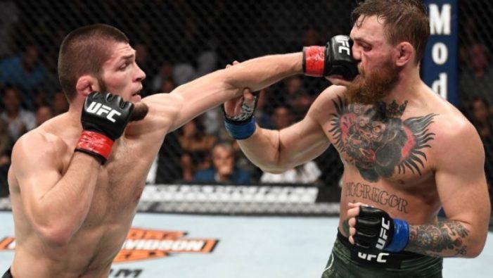 O Nurmagomedov έριξε πολύ ξύλο στον McGregor και μετά τα έκανε… μπάχαλο (vids)