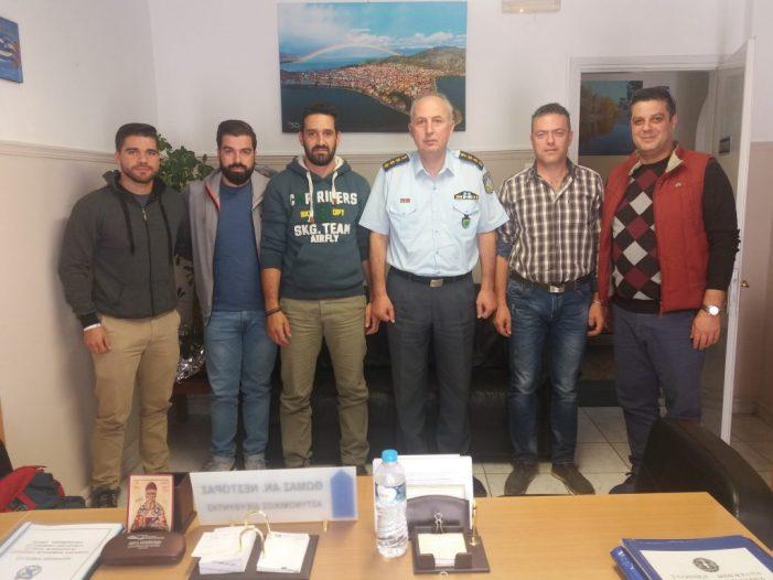 Επίσκεψη Ε.Α.Υ. Καστοριάς στον Διευθυντή της Δ.Α. Καστοριάς κ. Νεστορα Θωμά