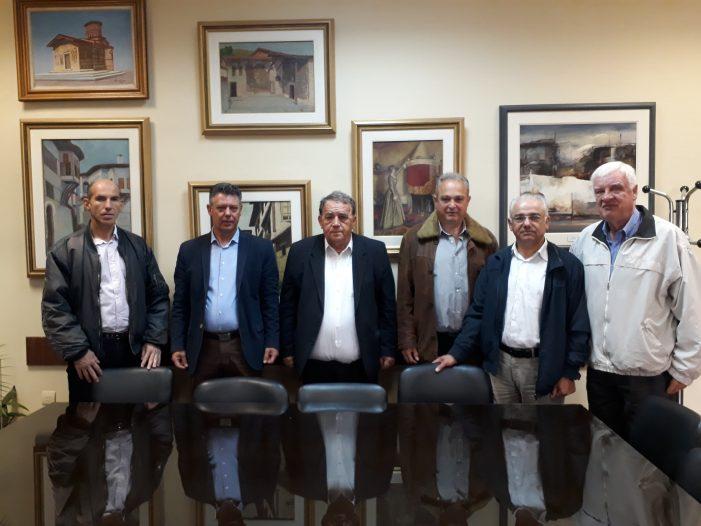 Επίσκεψη Σωματείου Απόστρατων Αστυνομικών Ν. Καστοριάς στον Δήμαρχο Καστοριάς
