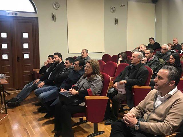 Στην εκδήλωση του Κέντρου Συμβουλευτικής Γυναικών Καστοριάς και της Εύξεινου Λέσχης Άργους Ορεστικού παρευρέθηκε η Μ. Αντωνίου