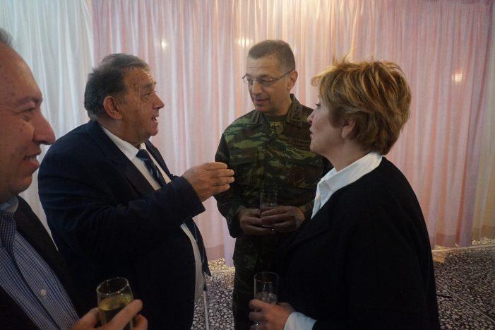 Η Υφυπουργός Εθνικής Άμυνας κ. Μαρίας Κόλλια στην Καστοριά