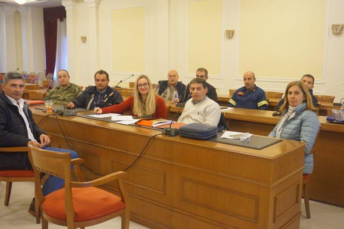 Συνεδρίαση του Συντονιστικού Τοπικού Οργάνου του Δήμου Καστοριάς για την πρόληψη εκτάκτων καιρικών φαινομένων