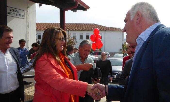 Η Μαρία Αντωνίου στην εκδήλωση του Νοσοκομείου Καστοριάς