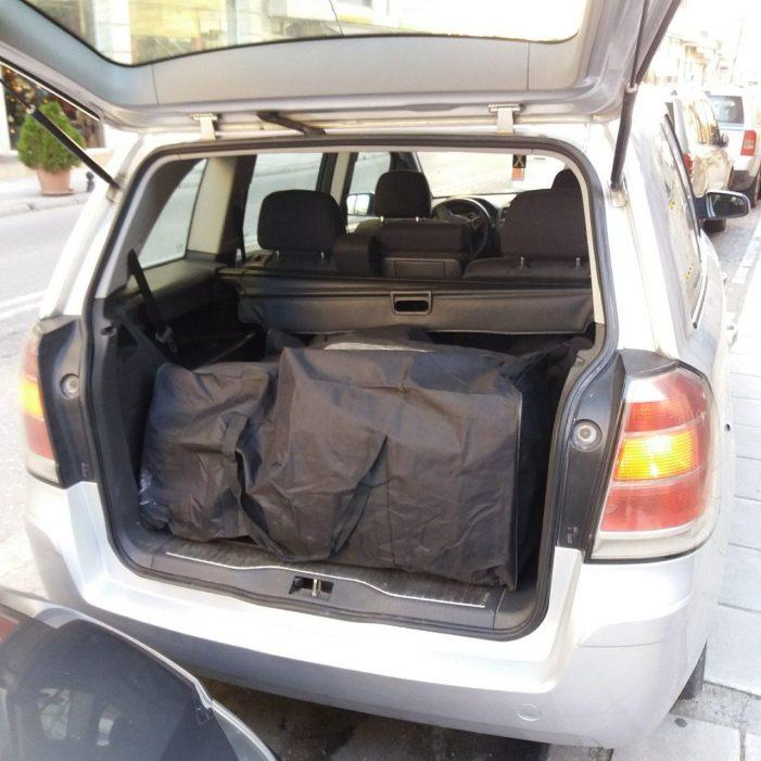 Συνελήφθησαν σε περιοχή της Καστοριάς 3 αλλοδαποί για μεταφορά ακατέργαστης κάνναβης 30 κιλών