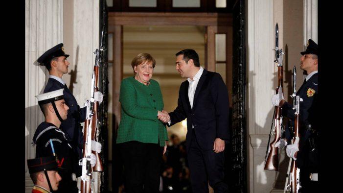 Δηλώσεις κατά τη συνάντηση  του Πρωθυπουργού, Αλέξη Τσίπρα, με την Γερμανίδα καγκελάριο, Άνγκελα Μέρκελ