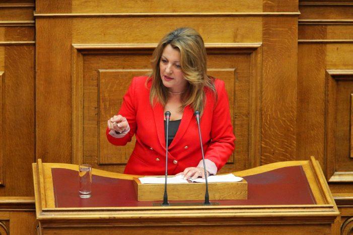 Ομιλία της Μαρίας Αντωνίου στην Ολομέλεια της Βουλής σε Νομοσχέδιο του Υπ.Παιδείας