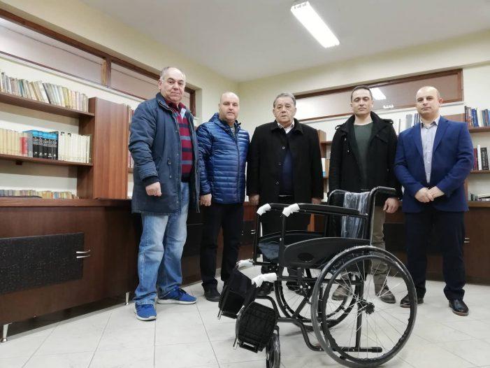 Δήμος Καστοριάς: Ευχαριστήριο για δωρεά αναπηρικού αμαξιδίου