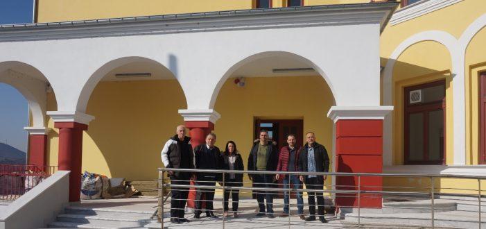 Επίσκεψη Α. Αγγελή στο ανακαινισμένο 1ο -8ο Δημοτικό Σχολείο Καστοριάς