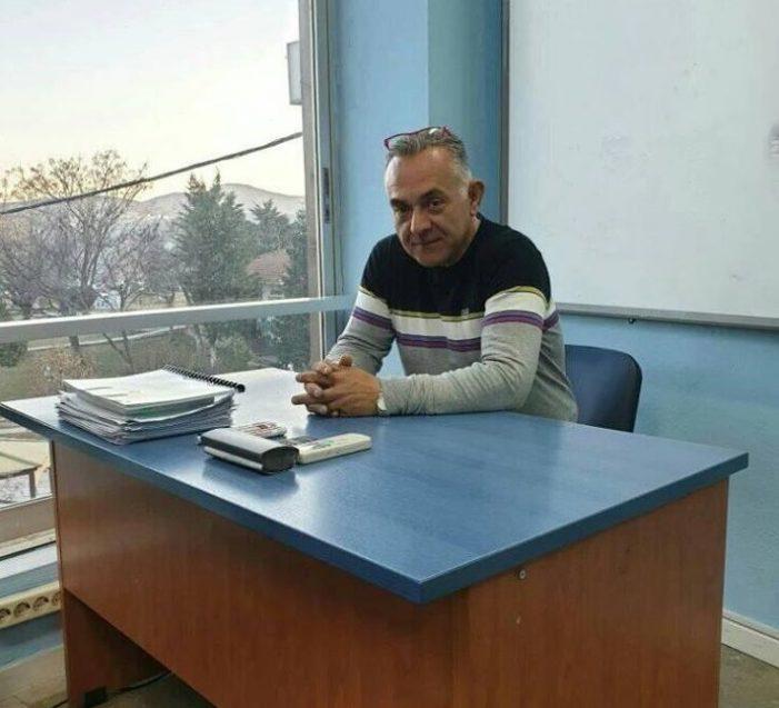Ο Γιάννης Μπάρδος υποψήφιος δημοτικός σύμβουλος Καστοριάς