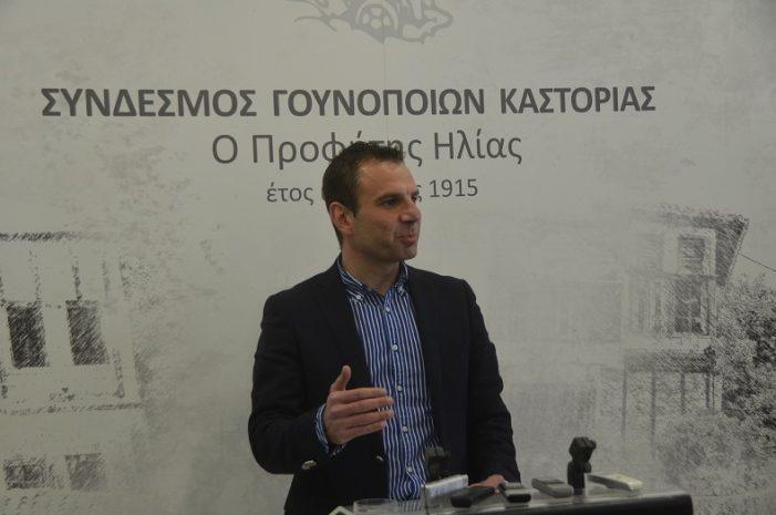 Η αποχώρηση του Γιάννη Κορεντσίδη από τη θέση του Προέδρου του Συνδέσμου Γουνοποιών Καστοριάς