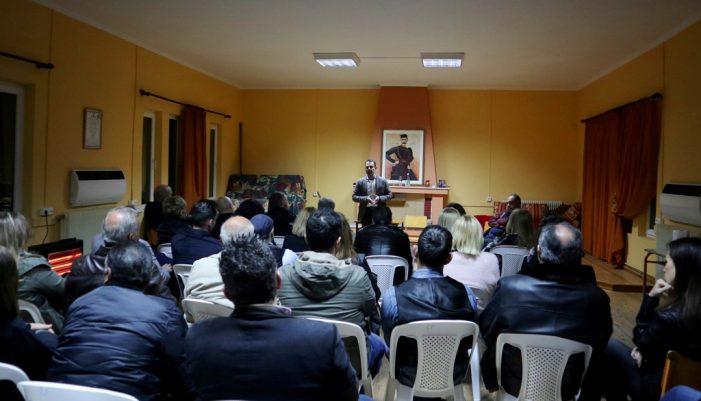 Επισκέψεις του Γιάννη Κορεντσίδη σε όλες τις περιοχές του Δήμου Καστοριάς