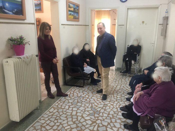 Στο Γηροκομείο και στο ΚΑΠΗ του Δήμου Καστοριάς βρέθηκε ο Αντιπεριφερειάρχης Καστοριάς Σωτήρης Αδαμόπουλος