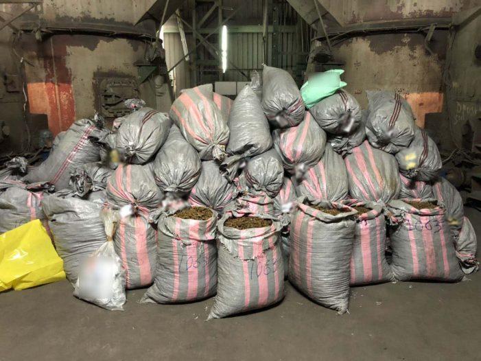 Τμήμα Δίωξης Ναρκωτικών Καστοριάς: Πάνω από 949 κιλά κάνναβης και 8 κιλά ηρωίνης καταστράφηκαν σε υψικάμινο