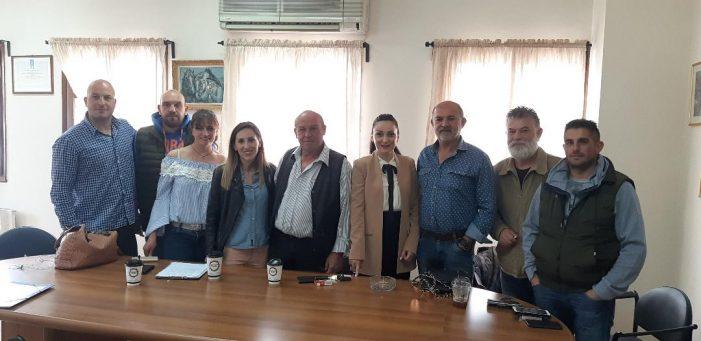 Η Κατερίνα Σπύρου στον Αγροτικό Συνεταιρισμό Καστοριάς