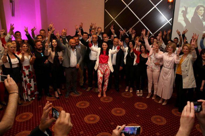 Η προεκλογική ομιλία της Υποψήφιας Δημάρχου Κατερίνας Σπύρου