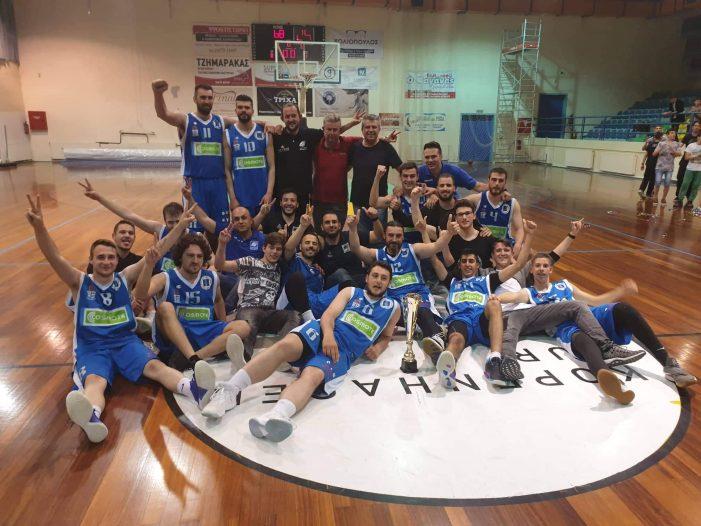 Α.Σ. Άργους Ορεστικού: Πρωταθλητές Α' Ανδρών ΕΚΑΣΔΥΜ 2018-2019